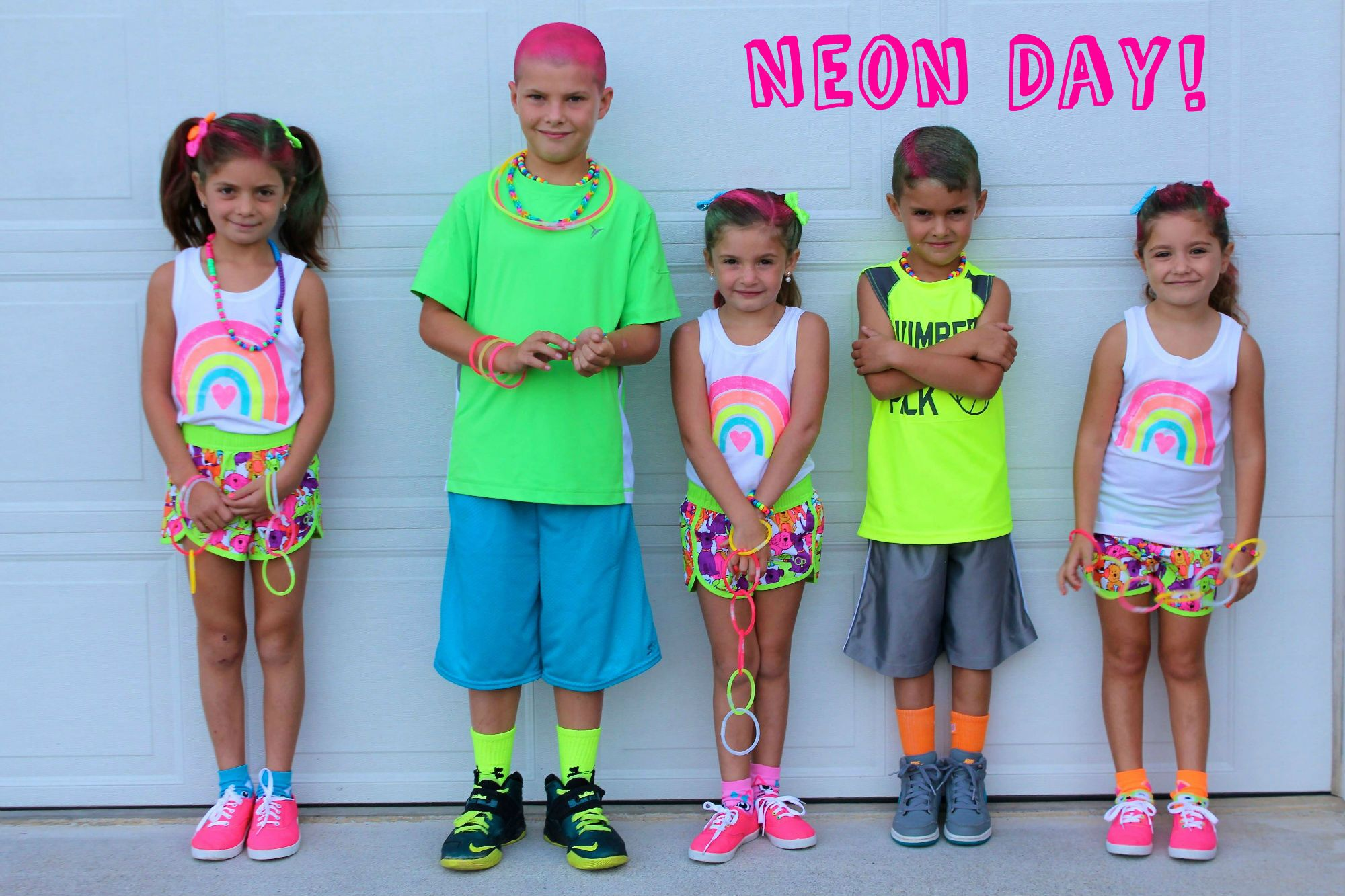 Neon Day!!! | Neon, Spirit week ideas and School