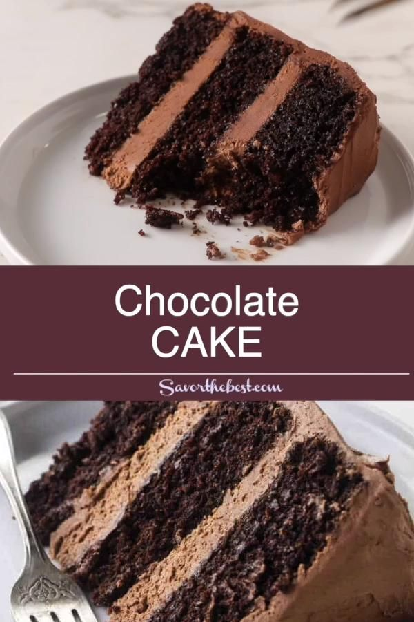 Photo of Chocolate Cake with Chocolate Buttercream