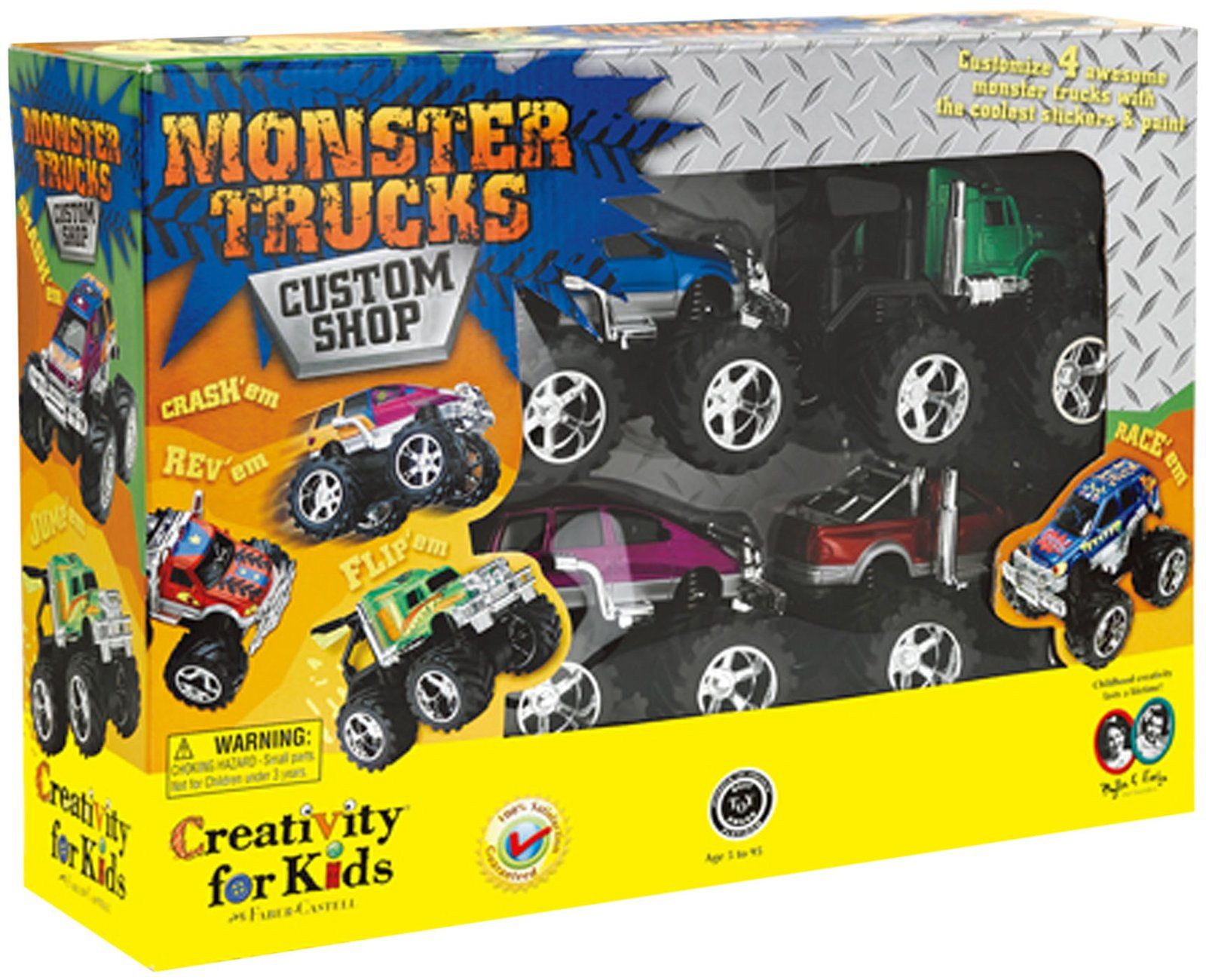 Toys car and truck  Are you ready to roll Detail and customize  different monster