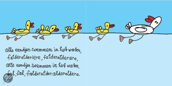 alle eendjes zwemmen in het water kinderliedjes liedjes