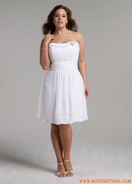 Pin On Short Plus Size Wedding Dress