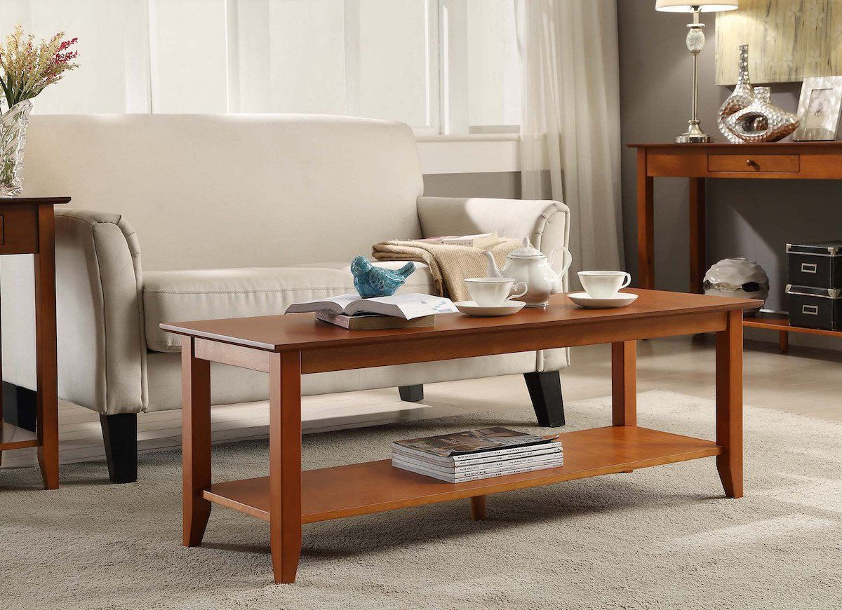 10 Coffee Tables For Under 150 Coffee Table With Shelf Country