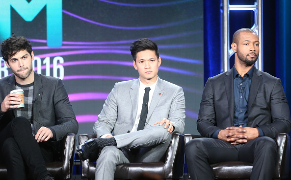 The #Shadowhunters cast at #TCA16