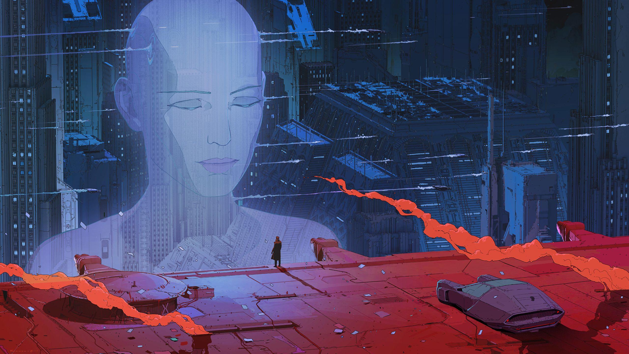Blade Runner 2049 2560x1440 Music Indieartist Chicago Blade Runner Blade Runner Art Ash Thorp