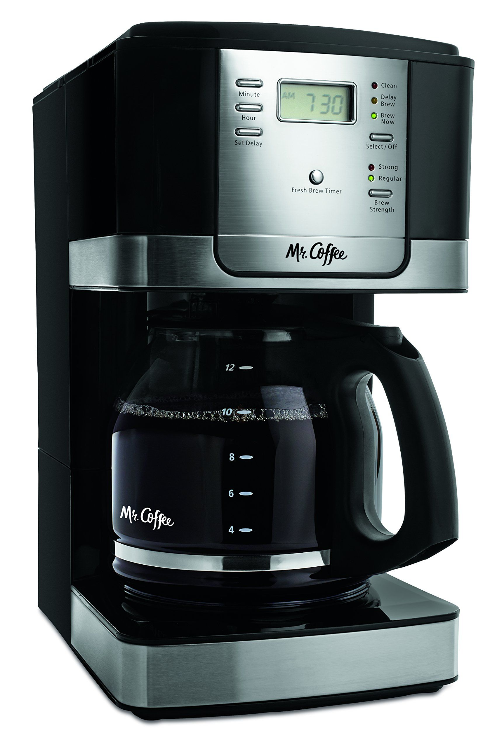 Mr Coffee Jwx27npa 12cup Progammable Coffeemaker Black You Can Find More Details By Visiting The Image Coffee Maker Best Coffee Maker Coffee Maker Reviews