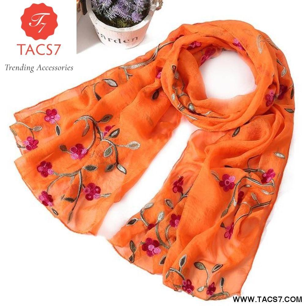 ff7777650 New brand women scarf spring summer silk scarves shawls and wraps lady  pashmina beach stoles hijab foulard