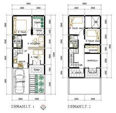 Desain Rumah Type 36 Minimalis 2 Lantai Cek Bahan Bangunan