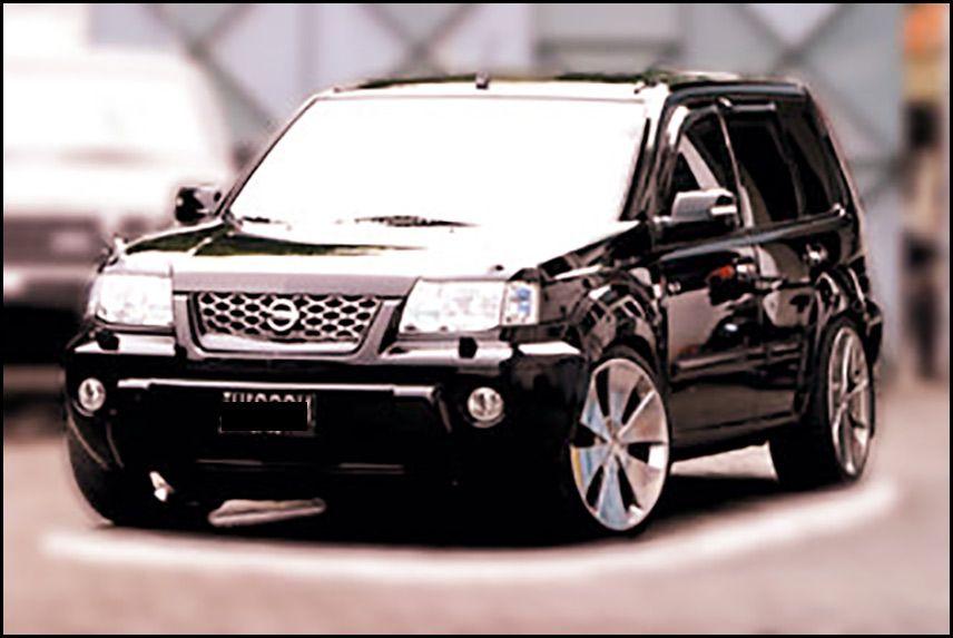 modifikasi nissan x trail hitam Nissan, Kendaraan, dan Hitam