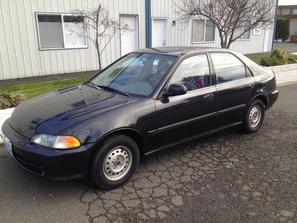 1993 Honda Civic Sedan Honda Civic Car Civic Sedan Honda Civic Sedan