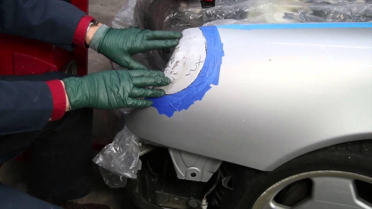 Precision Auto Body Car Dent Repair Proper Surface