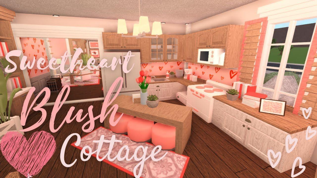 Bloxburg Blush Family Budget Home 30k House Build Youtube Building A House Roblox Bloxburg House Modern Family House