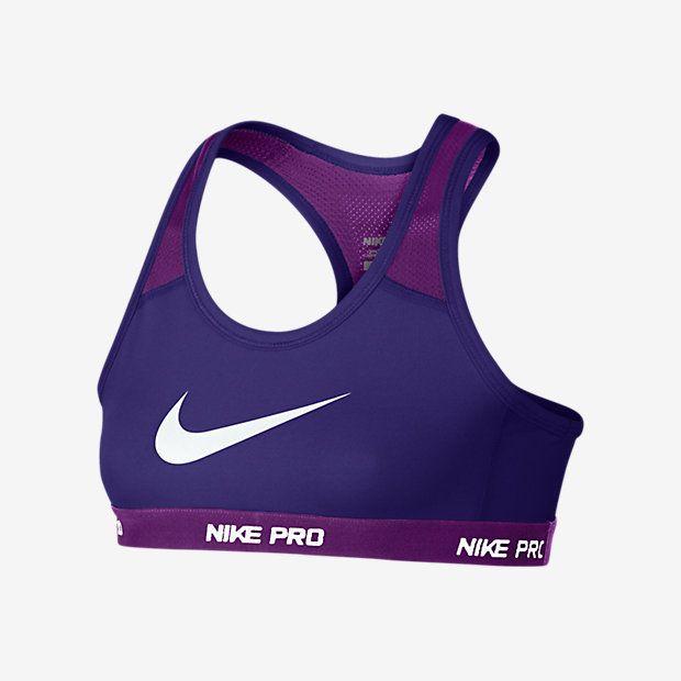 Nike Pro Hypercool Big Kids' (Girls') Sports Bra ...