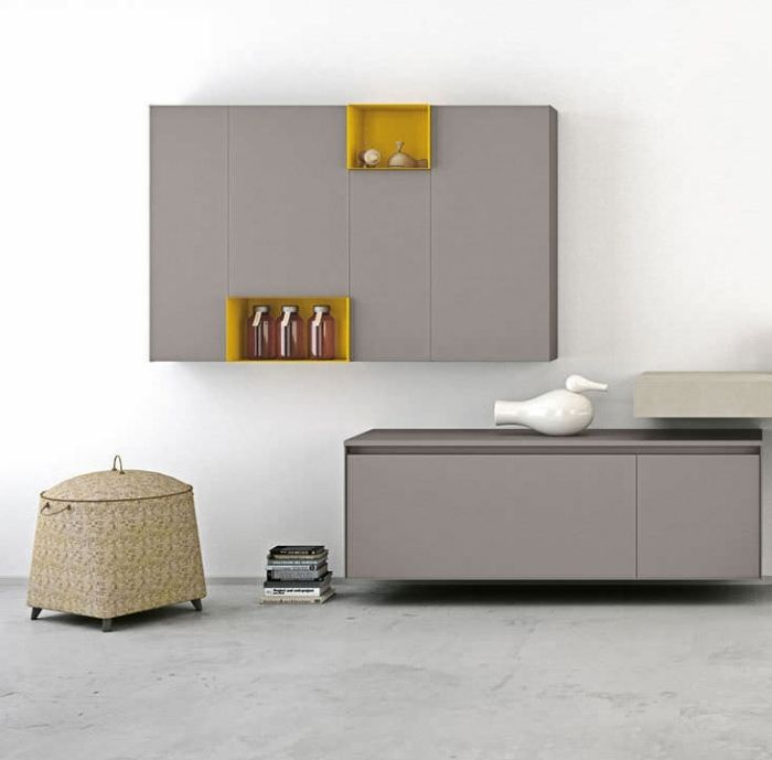 Badezimmerschrank Als Wandhängendes Modell Mit