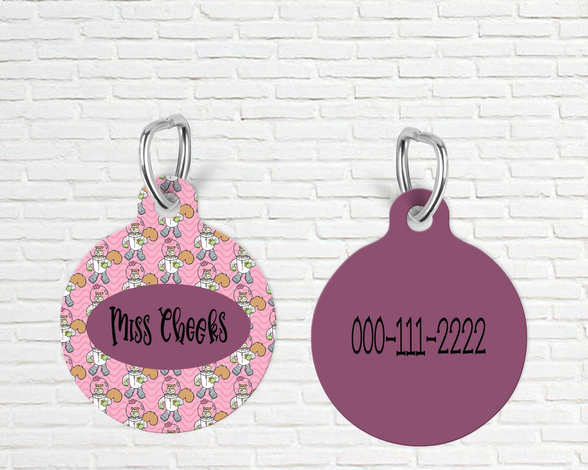 Camo Custom Personalized Pet ID Tag for Dog and Cats ** Be