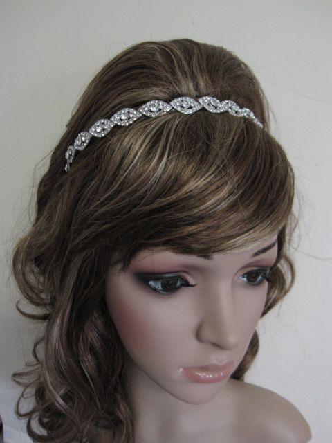 bridal headband crystal headbands wedding rhinestone headbands bridal hair accessories