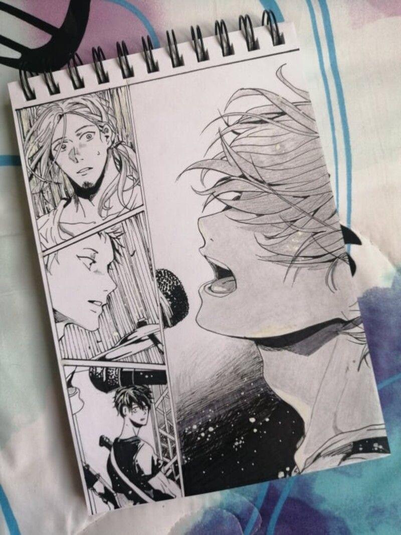 Photo of Given – Manga Panel, Fernanda Chávez