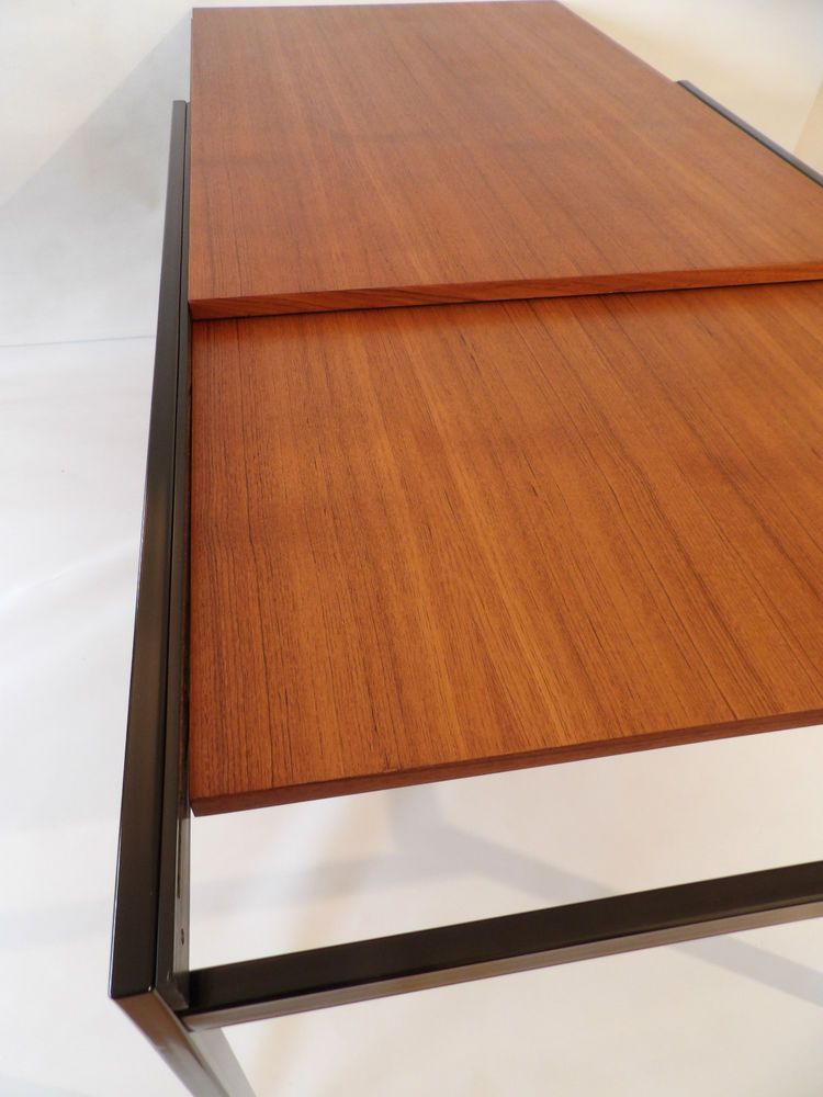 Cees Braakman Table for Pastoe Japanese Series Teak with extra leaf - Perfect
