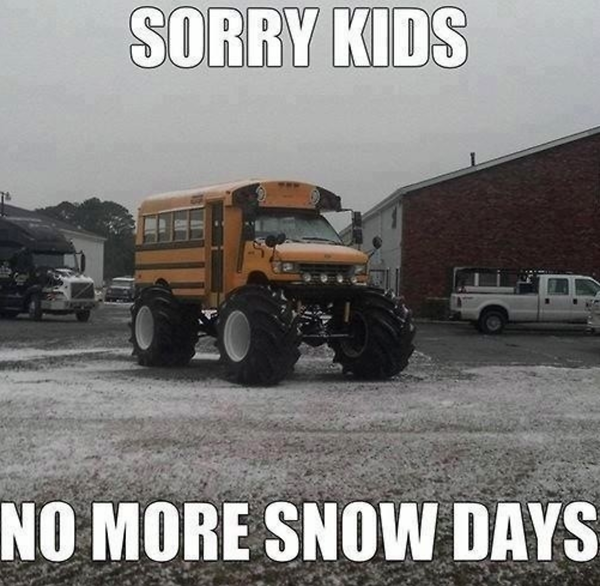 Funny Snow Day Memes