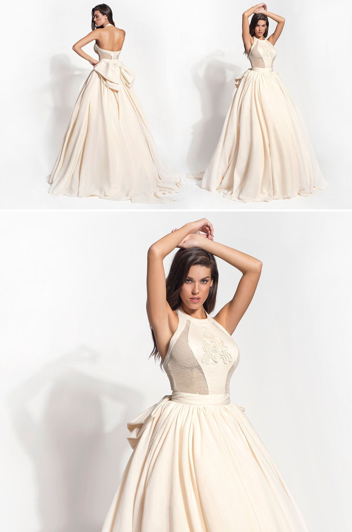 Handmade wedding dress  Ioli