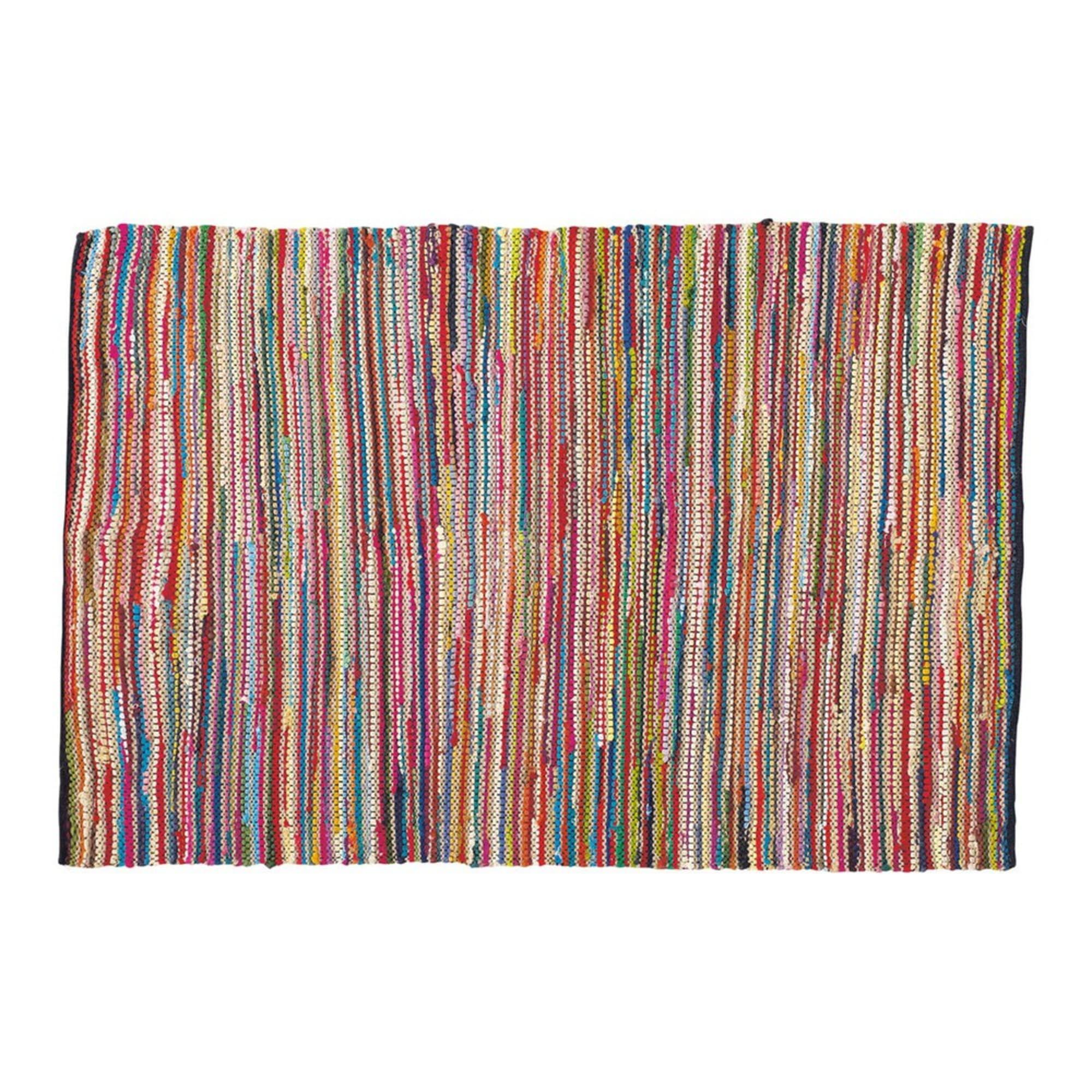 Cotton woven rug, multicoloured 140 x 200cm in 2020