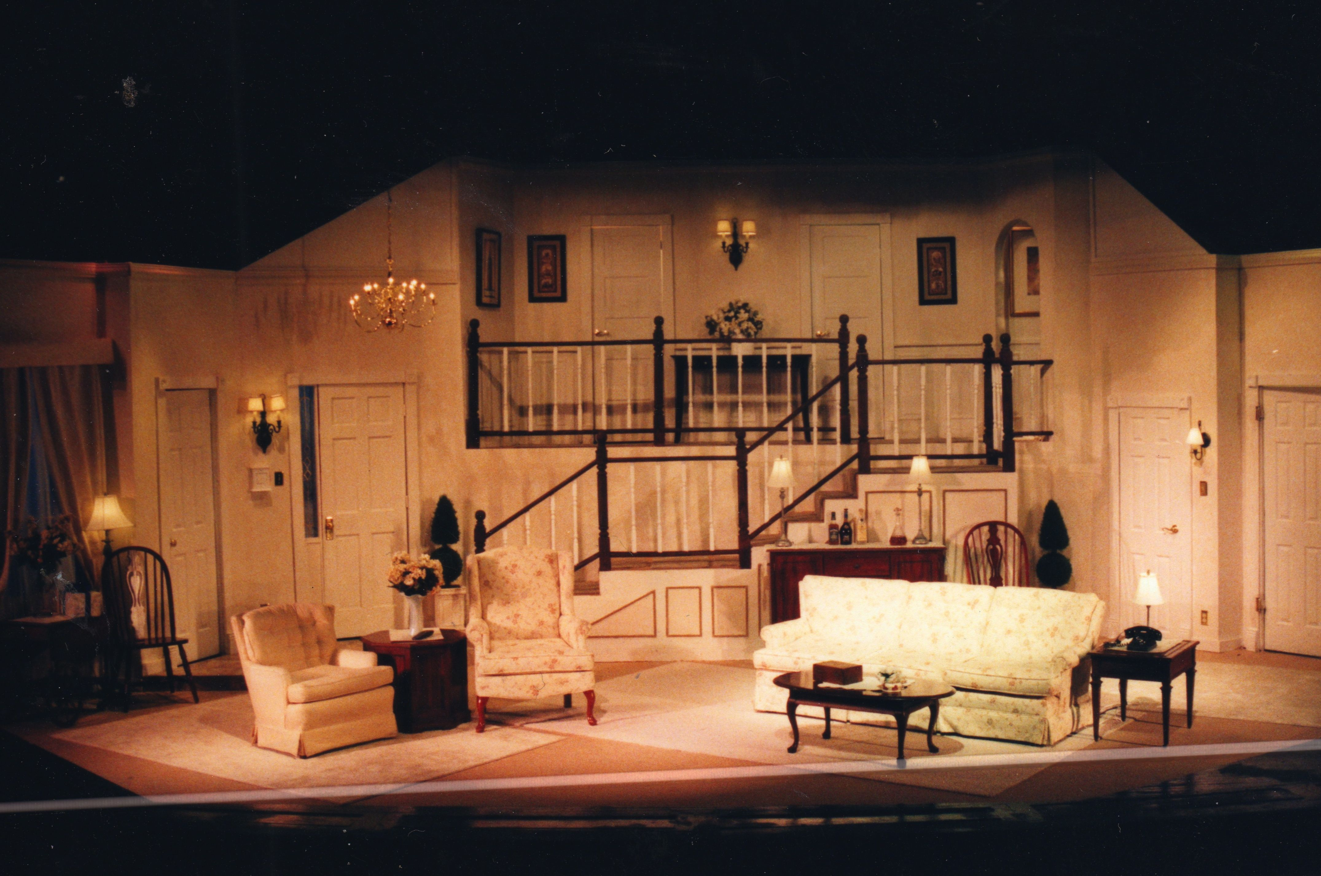 Rumors by Neil Simon Set Design and execution by Martin W