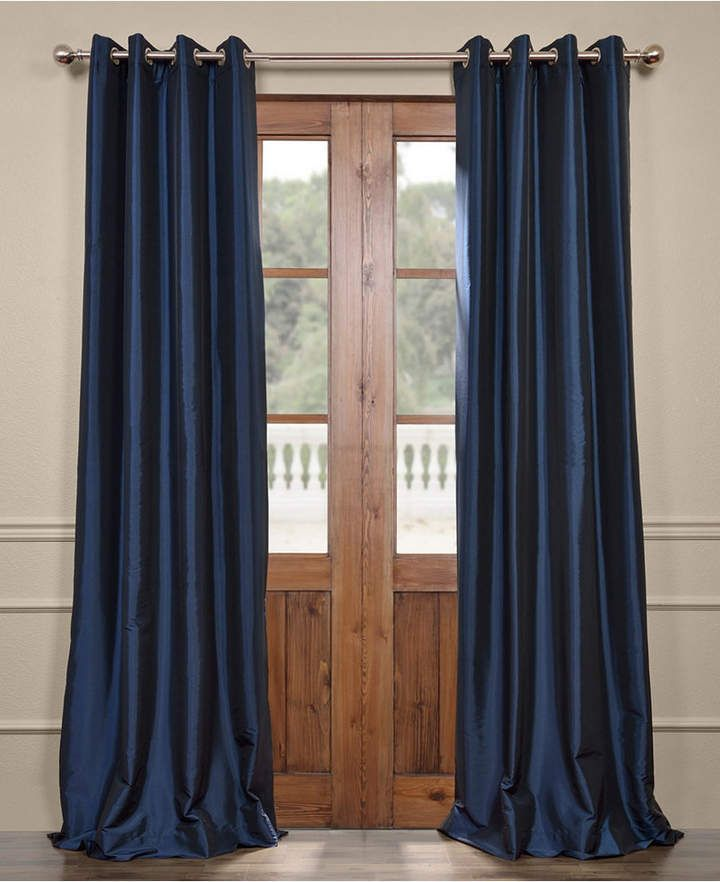 Exclusive Fabrics & Furnishings Grommet Blackout Taffeta