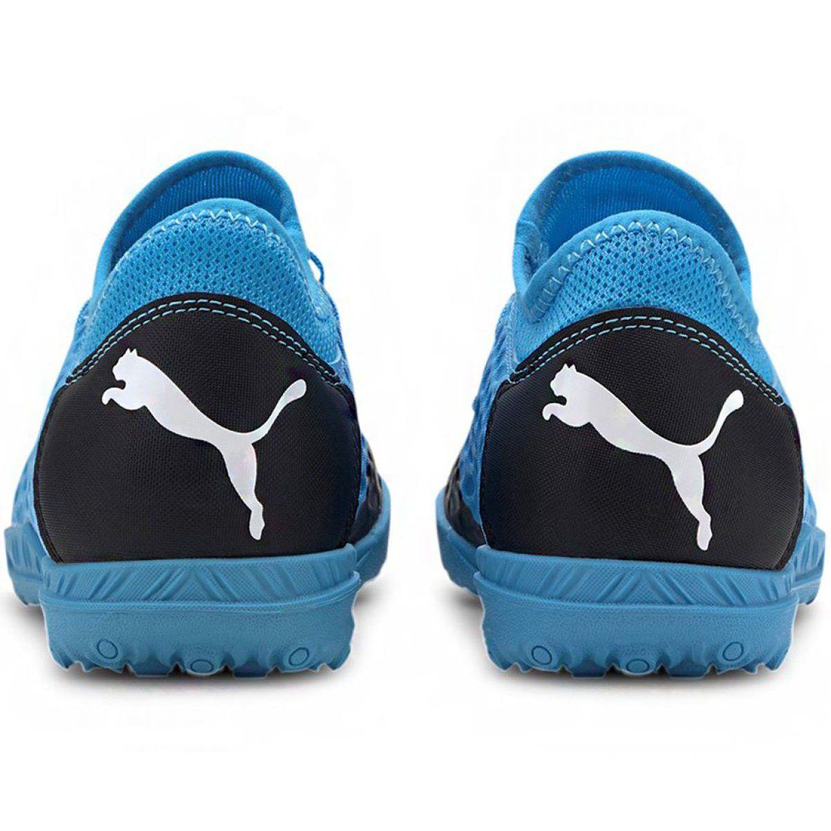 Buty Pilkarskie Puma Future 5 4 Tt Jr 105813 01 Niebieskie Niebieskie Football Shoes Soccer Boots Blue Shoes