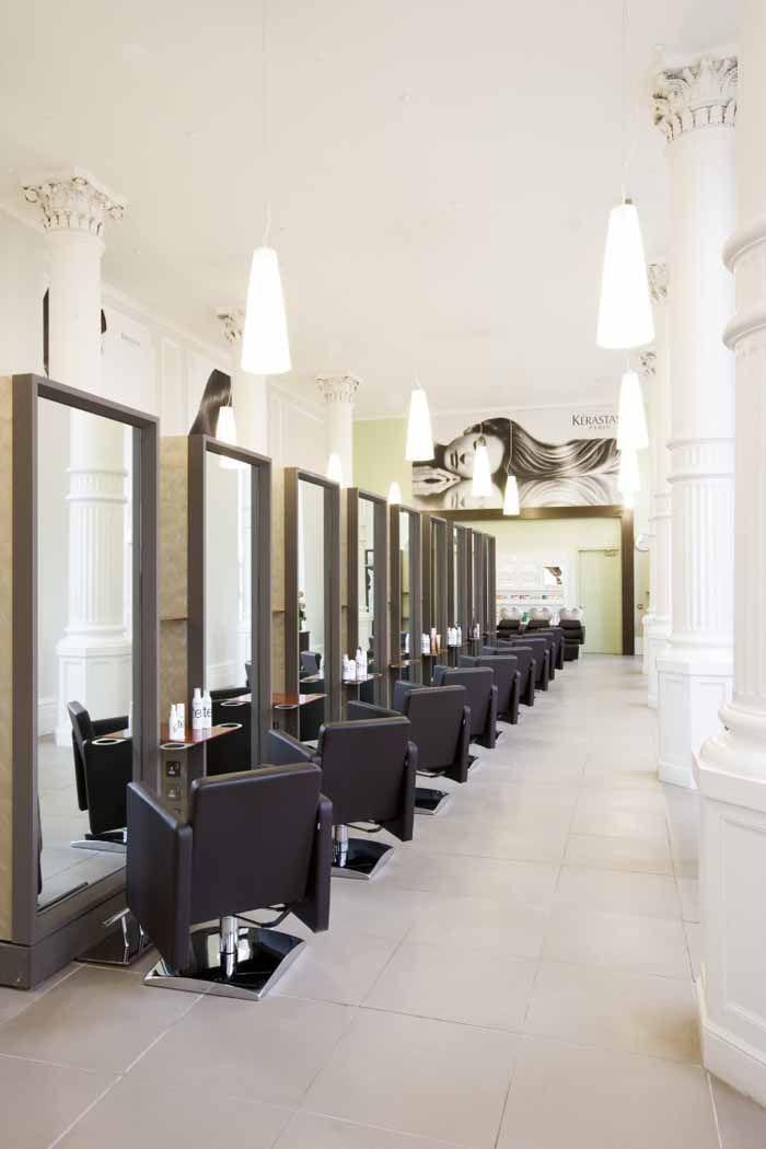 beauty salon decorating ideas photos | beauty salon floor plans,hair ...