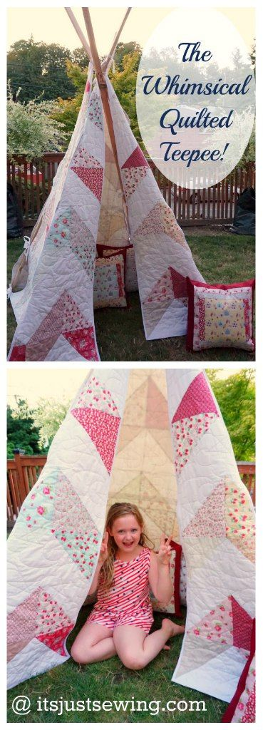 the whisical quilted teepee