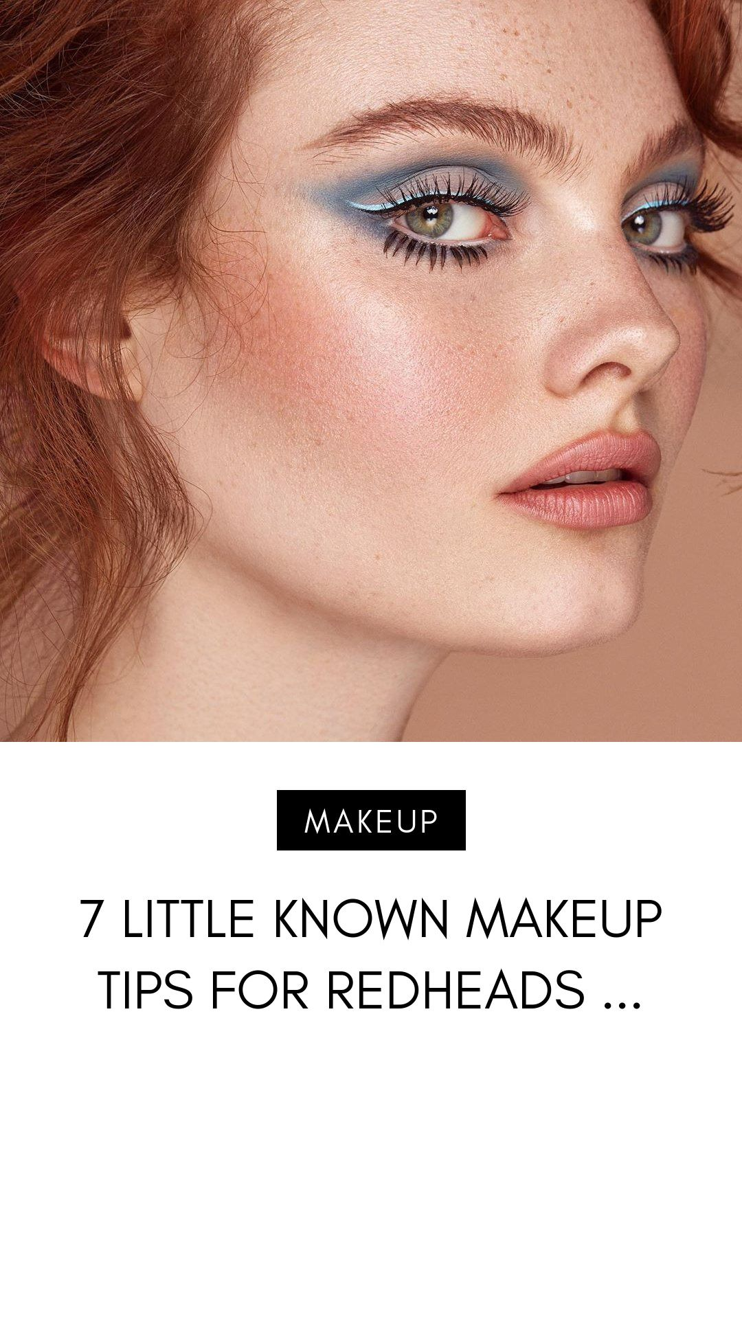7 Little Known Makeup Tips for Redheads in 2020