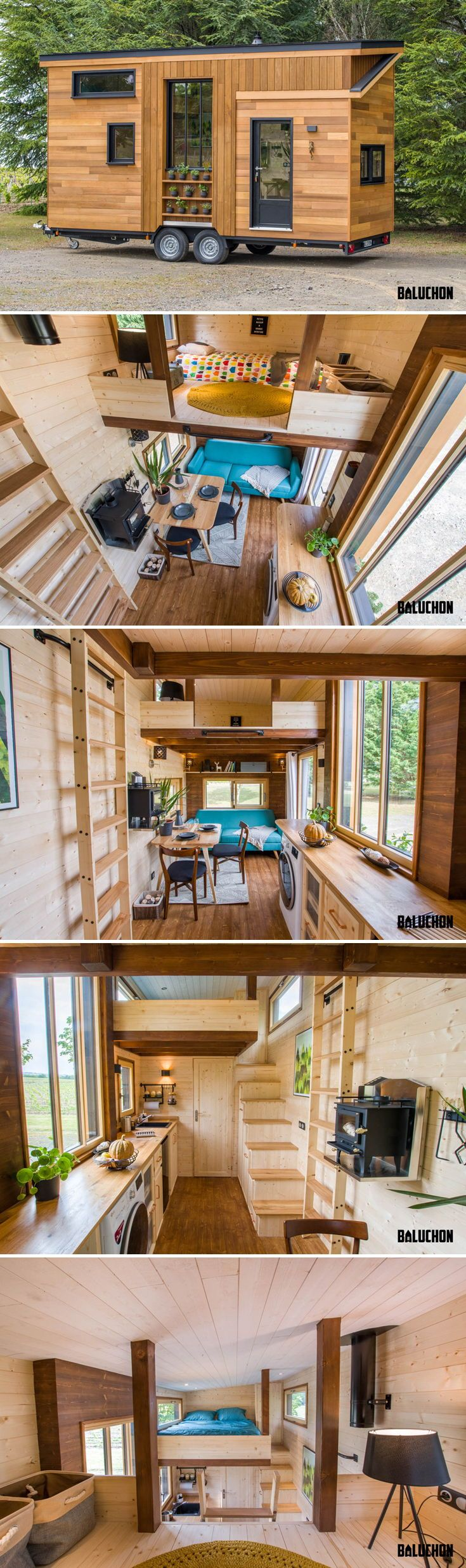 Astrild by Baluchon - Tiny Living #tinyhouses