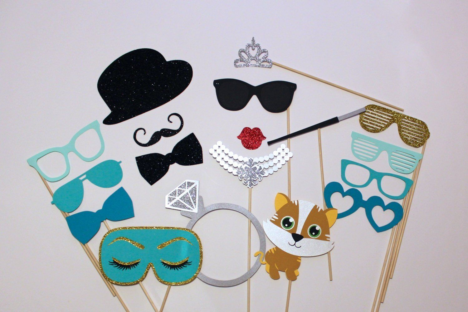 Breakfast at tiffanys photo booth prop