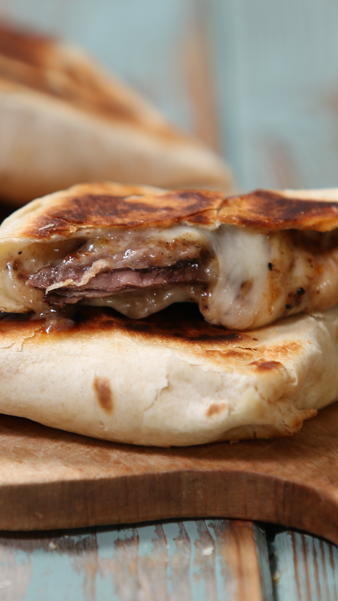 Steak And Cheese Parcels