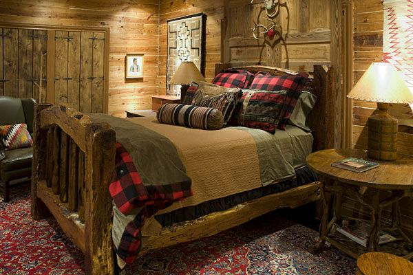 Keystone Ranch Home | Brasada Ranch Style Homes - Rustic - Bedroom ...