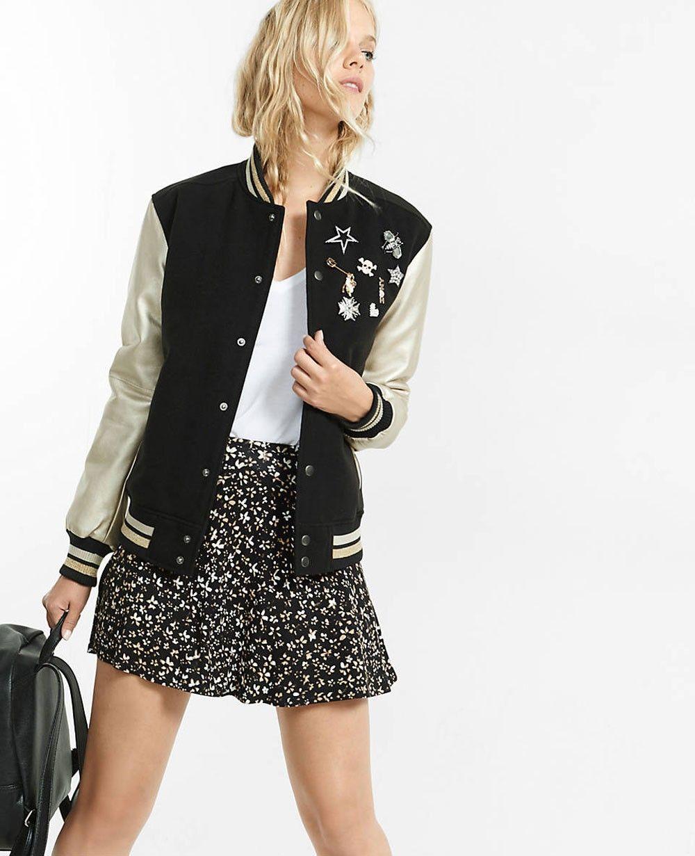 http://www.quickapparels.com/pin-embellished-metallic-long-sleeve-wool-varsity-jacket.html