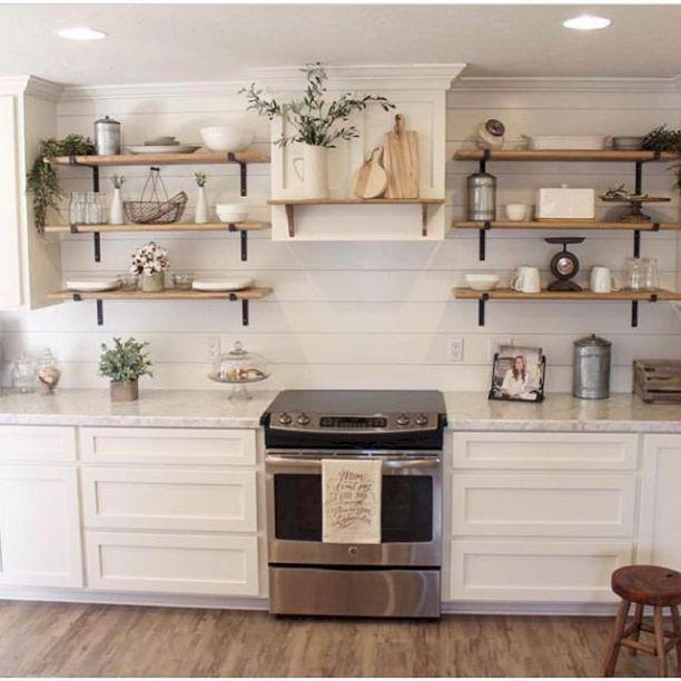 55 Rustic Farmhouse Kitchen Decoration Ideas Kitchen decorations