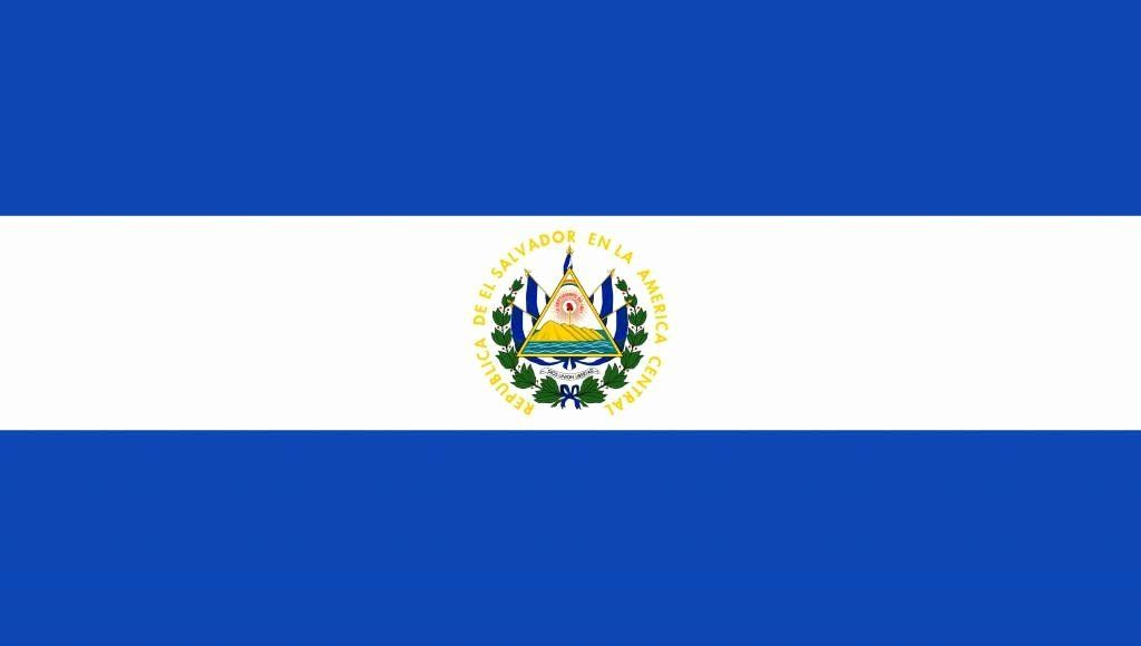 El Salvador Flag Coloring Page In 2020 Flag Coloring Pages Best