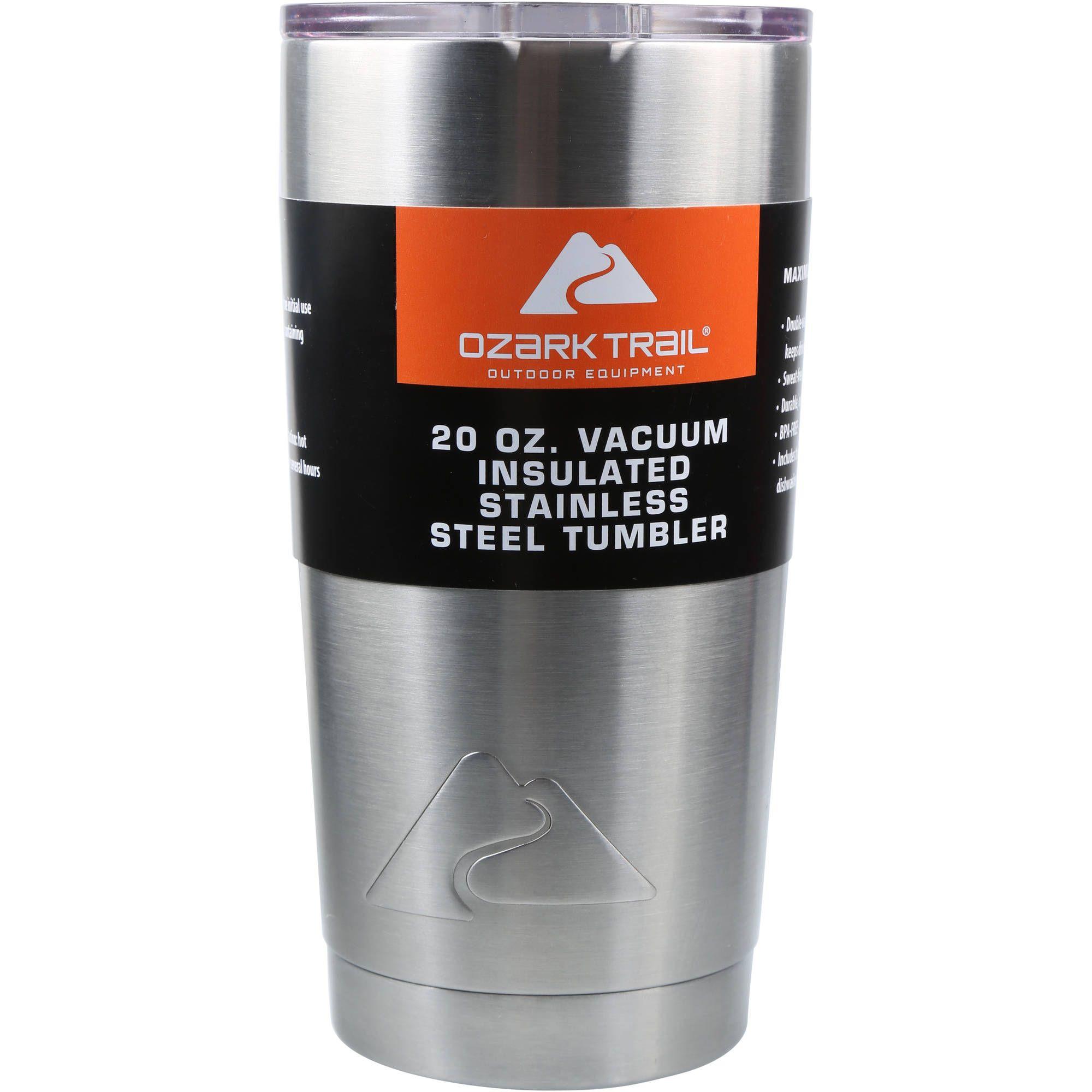 Ozark Trail 20Ounce DoubleWall, VacuumSealed Tumbler