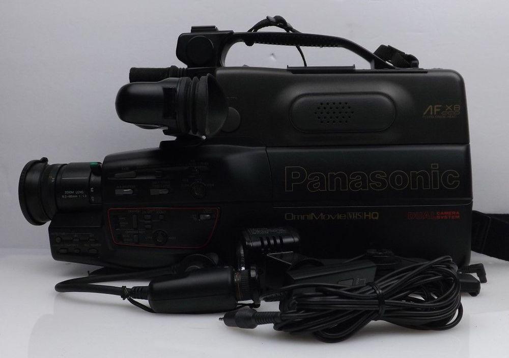 Panasonic Camcorder Omnimovie Vhs Afx8 Parts Only Panasonic Camcorder Vhs Panasonic