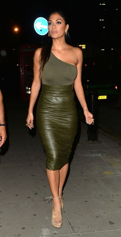 Nicole Scherzinger Out In London Nicole Scherzinger In