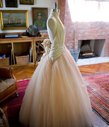 portia de rossi's wedding dress | one day my prince will come