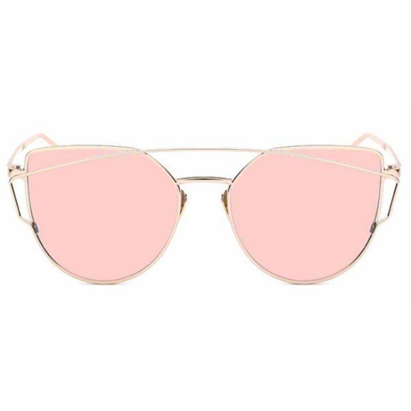 1eb1eb7a3eb Siena Sunglasses - Rose Gold Mirror