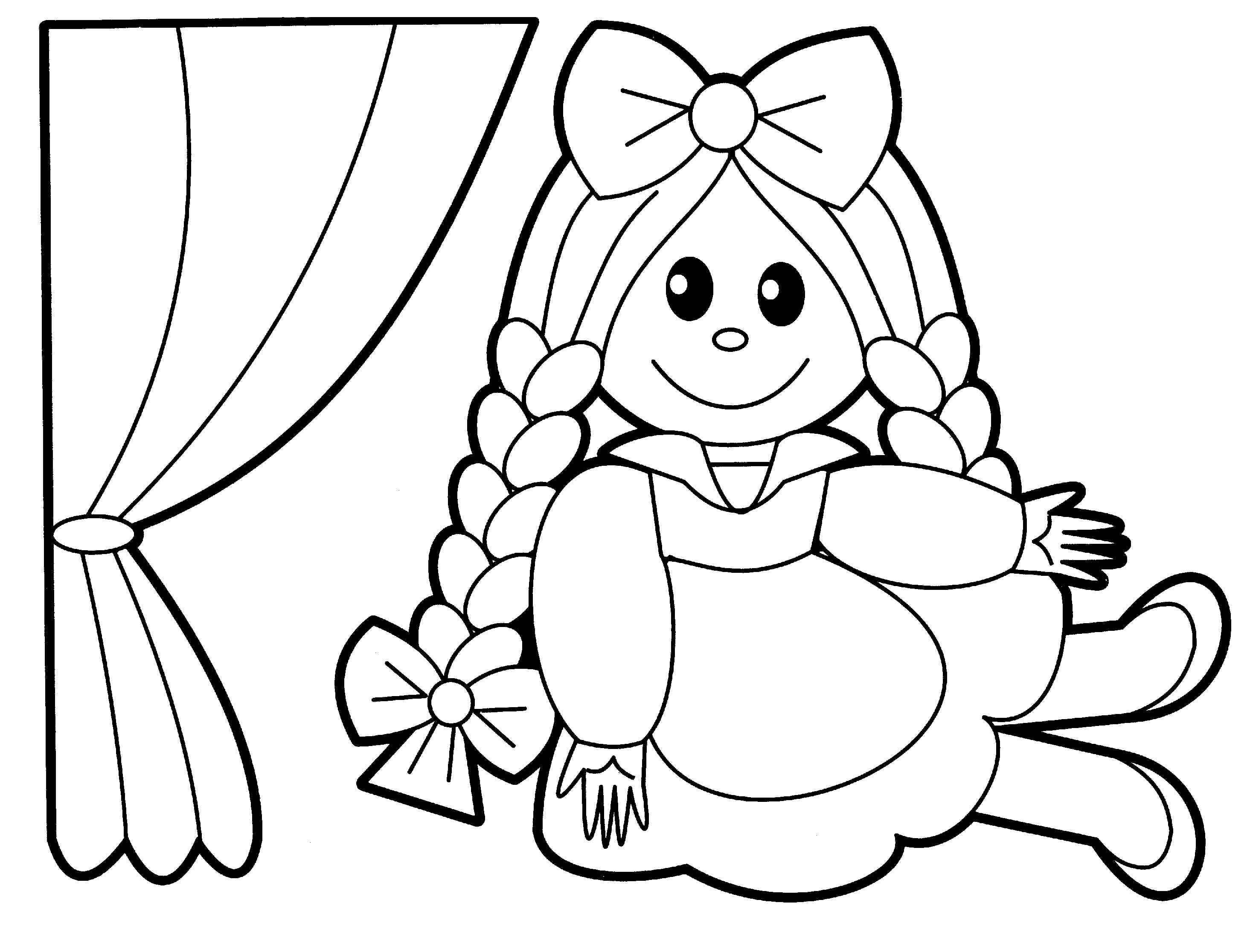 Coloring Pictures Baby Dolls Toy Story Coloring Pages Toddler