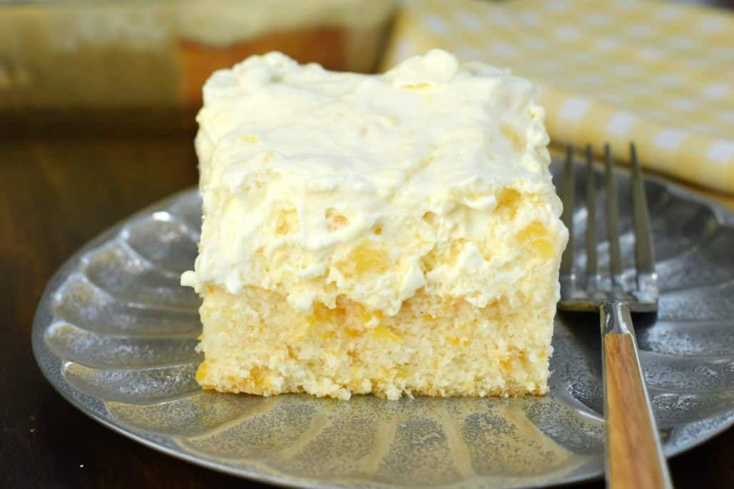 Pineapple Orange Cake   Recipe   Light Dessert Recipes, Easy Light And Dessert  Recipes