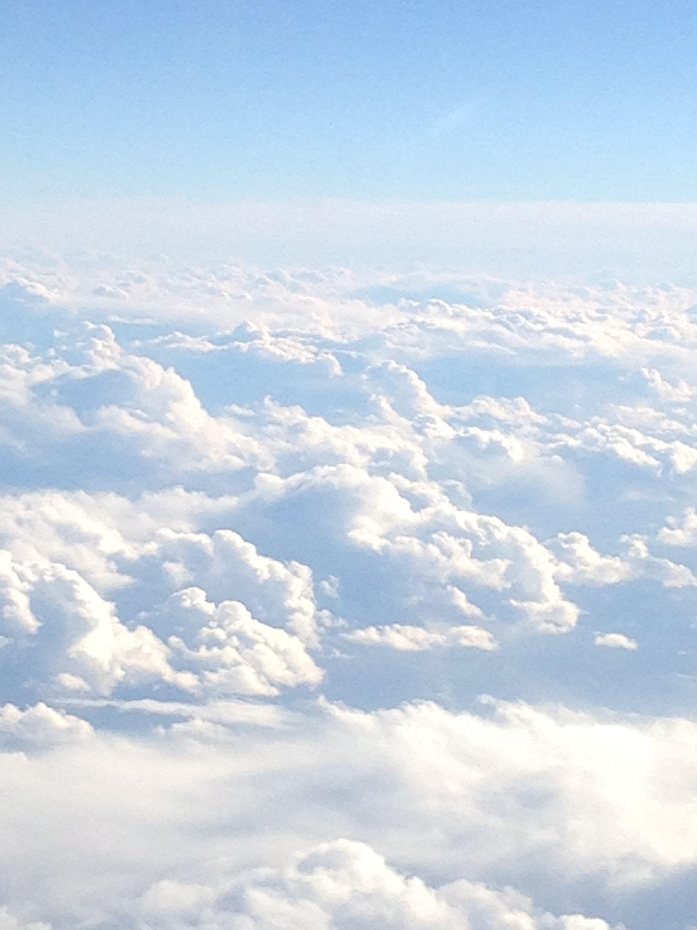 Great clouds above the Caribbean sea! (With images) | Sky ...
