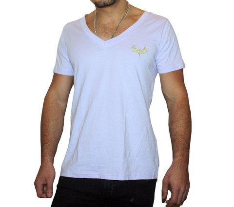 Mens - Light Deep V T-shirt