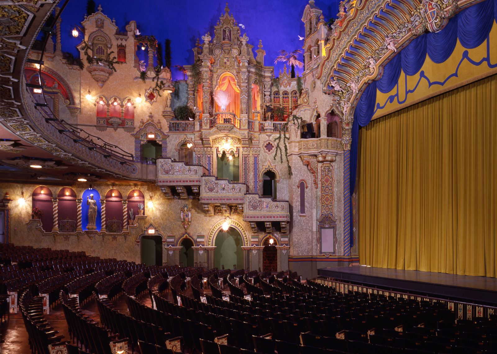 Majestic Theatre And Charline Mccombs Empire