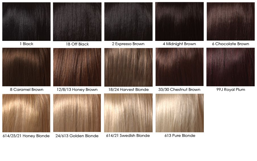 Brown Hair Color Chart Highlights With Brown Hair Color Chart