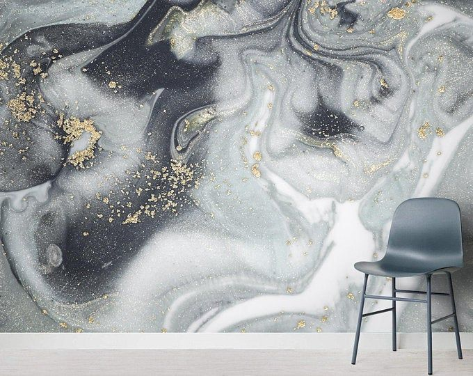 Deep Purple Gold Marble Wallpaper Wall Sticker decor Ceiling Wall Mural Self Adhesive Exclusive Design Photo Wallpaper