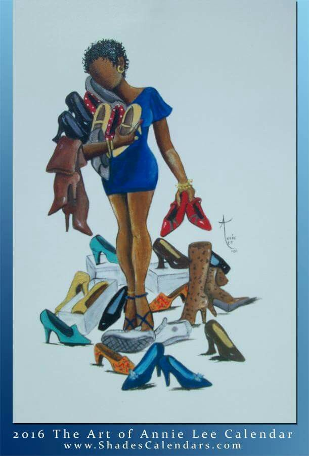 CHOICES CHOICES. .ANNIE LEE ART ALWAYS GETS IT RIGHT !!